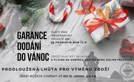 Vánoce 2018 - prodloužená lhůta na výměnu