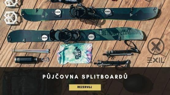 Půjčovna splitboardů | Exil.cz