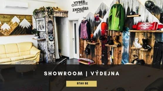 Výdejna a showroom Exilshop Olomouc
