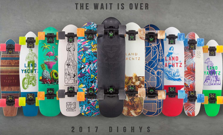 Landyachtz Dinghy cruiser 2017