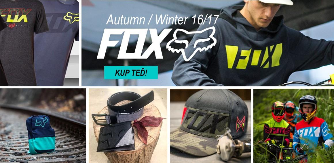 Fox nová kolekce autumn winter 16-17