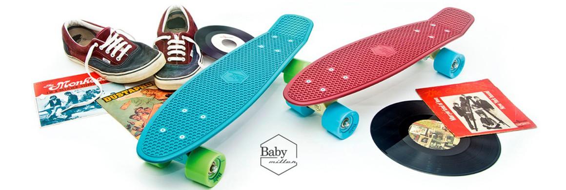 Baby Miller longboardy
