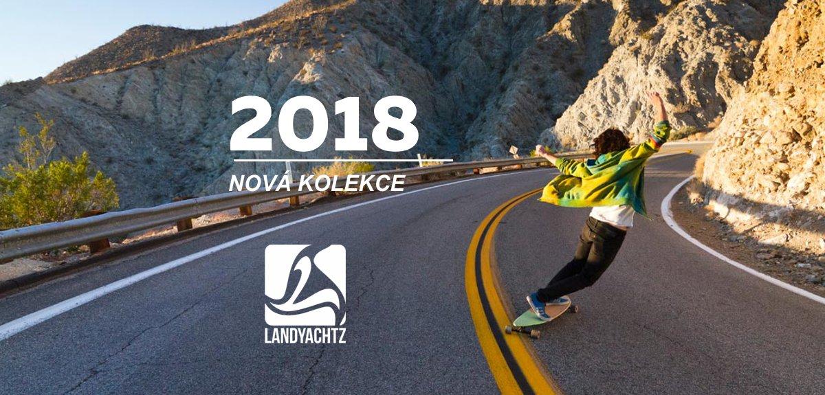 Landyachtz longboardy 2018 - nová kolekce