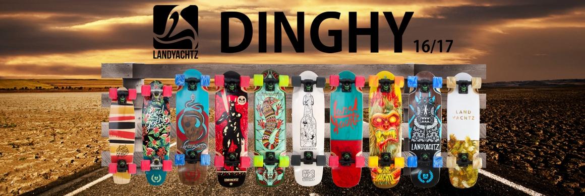 Landyachtz Dinghy longboard / cruiser 16/17