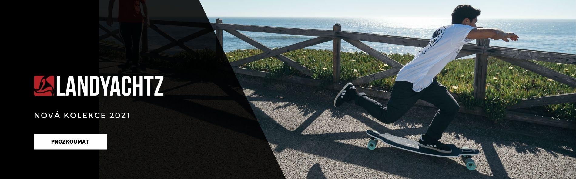 Landyachtz 2021 skladem | longboard, cruiser, skate