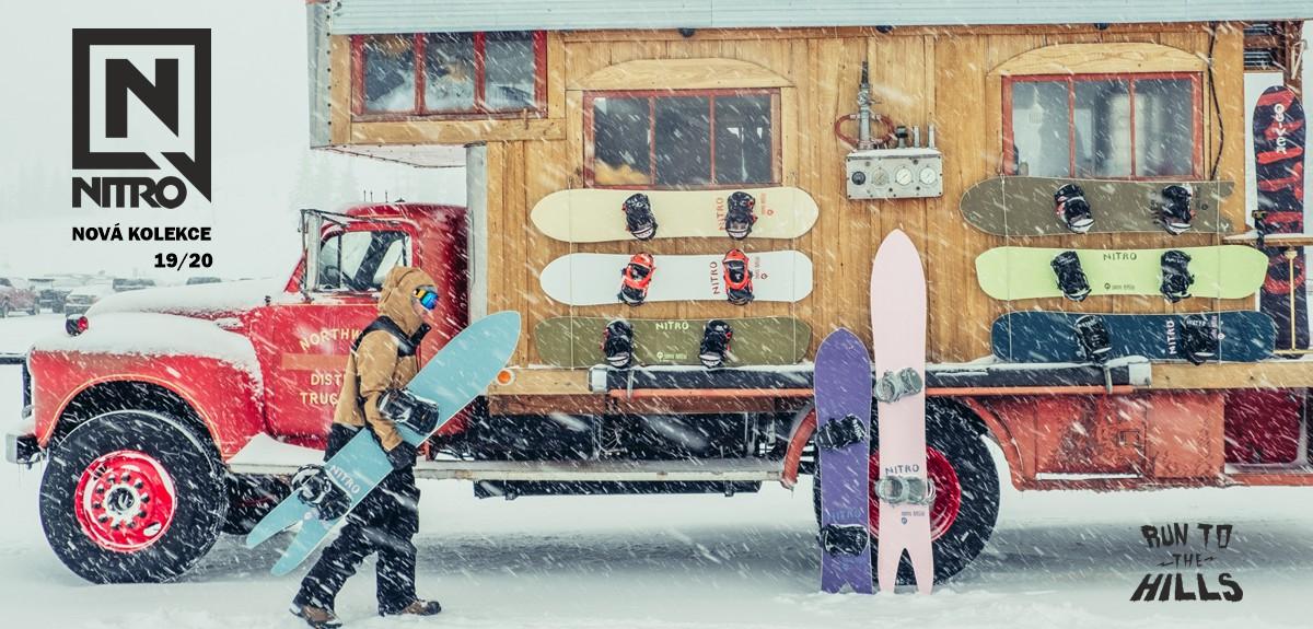 NITRO SNOWBOARDS 19/20 NOVÁ KOLEKCE