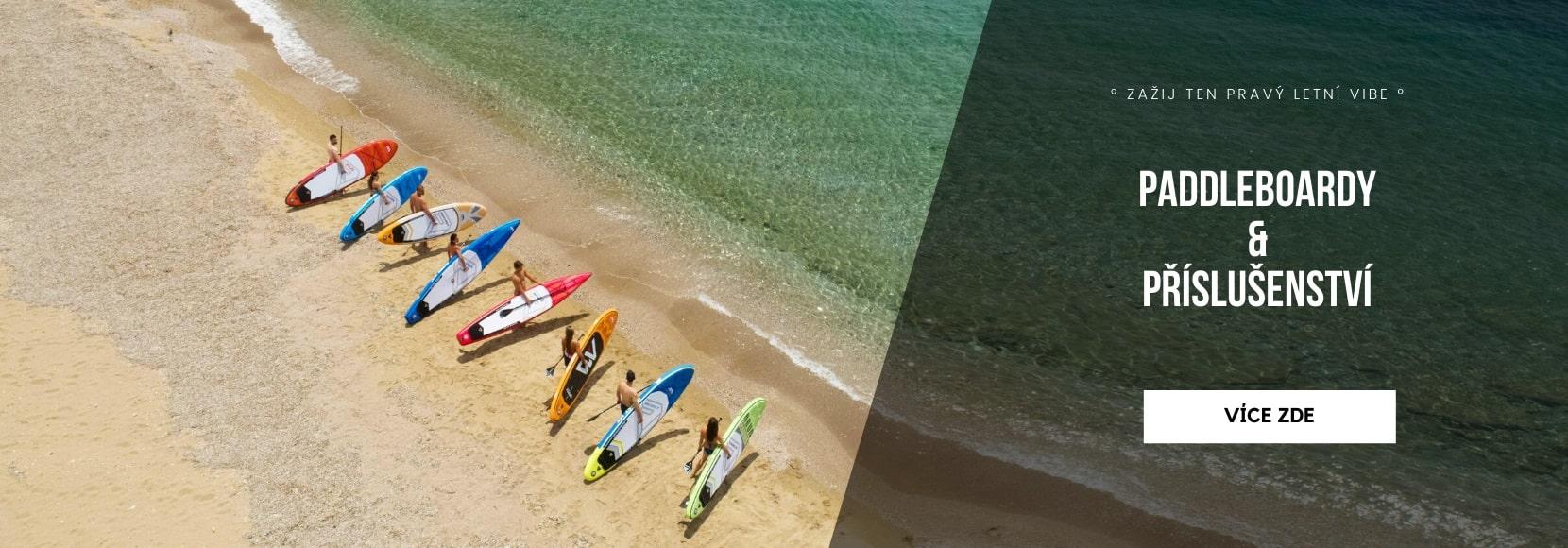 Zažij ten pravý letní vibe s paddleboardem