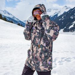 Horsefeathers pánská zimní bunda Herald Jacket Tree Camo 19/20