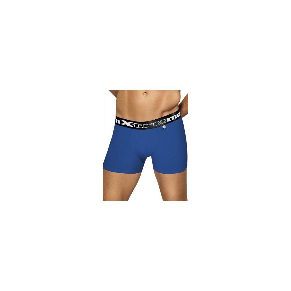 Pánské boxerky Xtremen Butt Lift Boxer modré