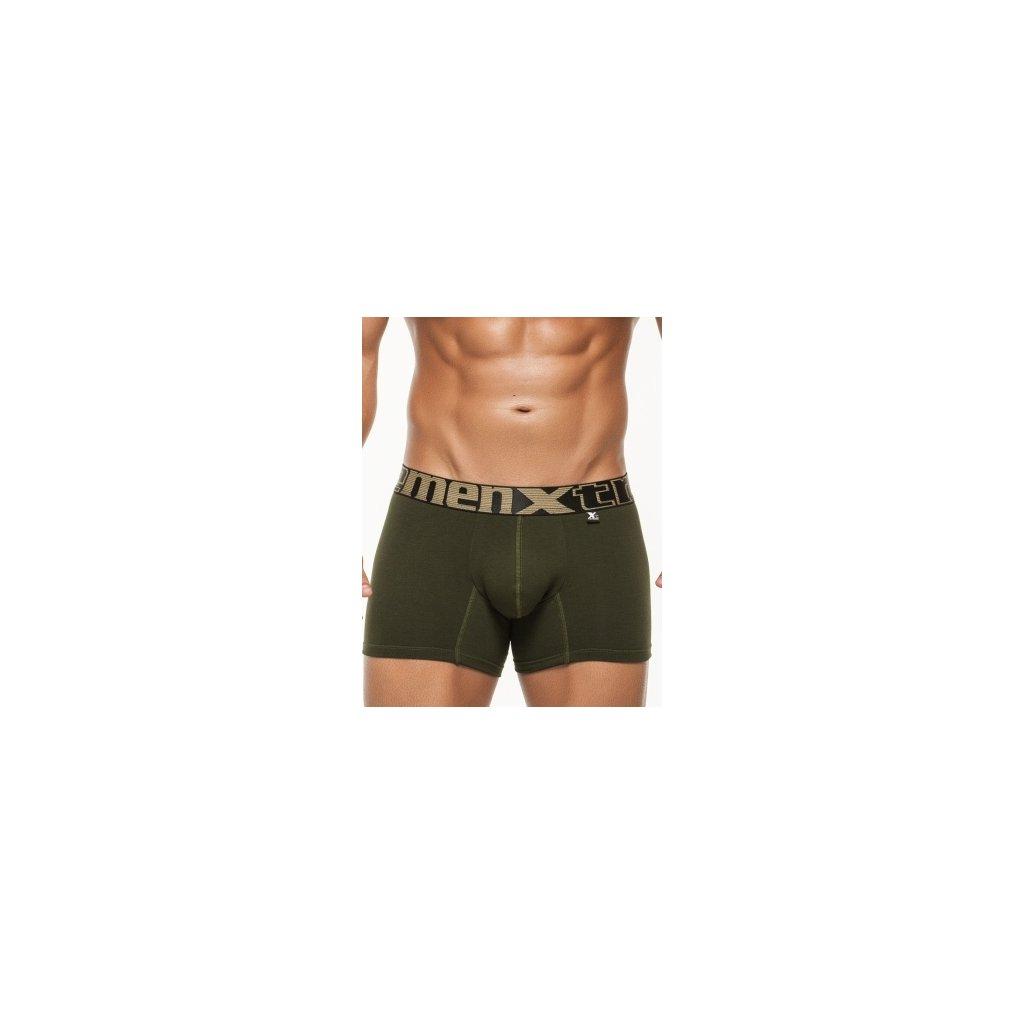 Pánské boxerky Xtremen Short Boxer Military Green