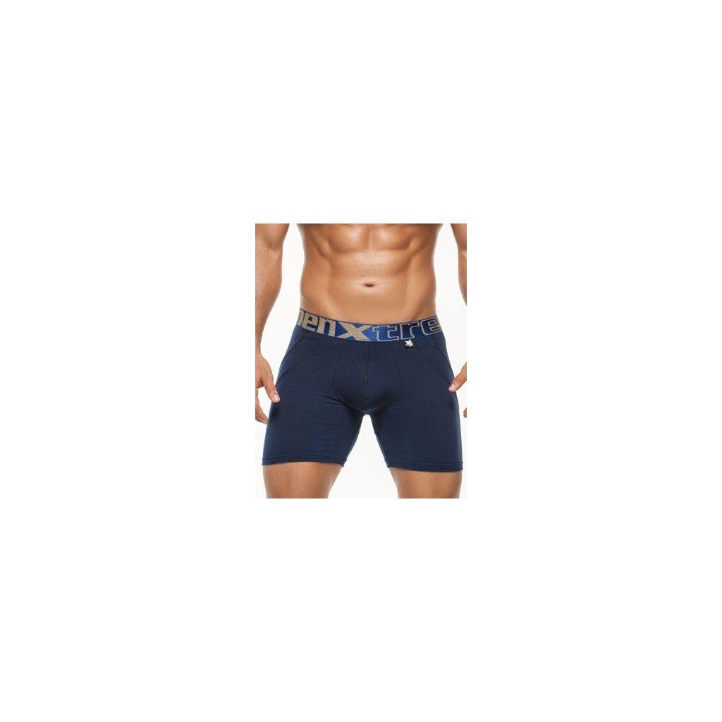 Pánské boxerky Xtremen Sports Boxer Lift Dark Blue