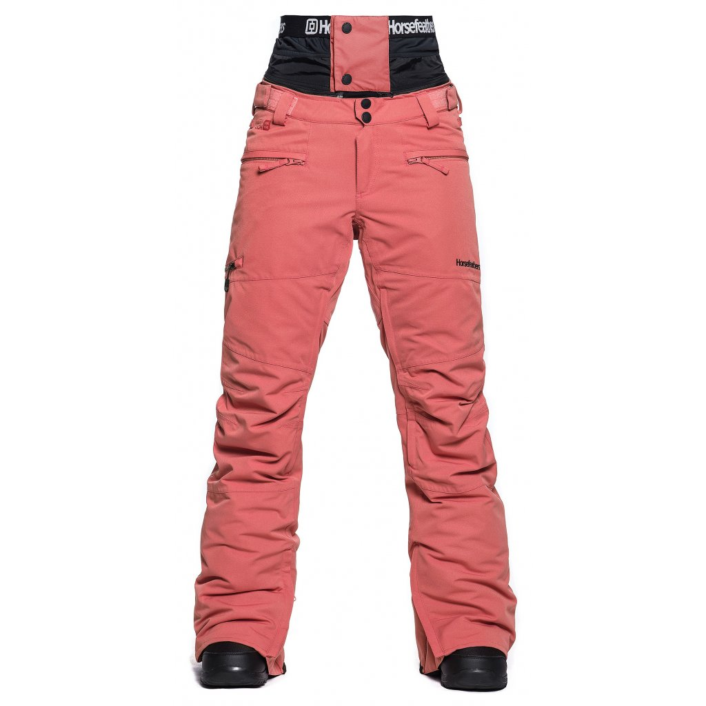 horsefeathers damske kalhoty na snowboard lotte 15 spiced coral 20 21 exilshop