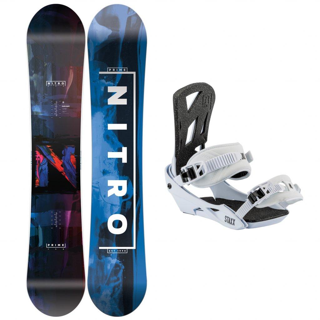 snowboard komplet pansky nitro Prime Overlay staxx salt exilshop olomouc
