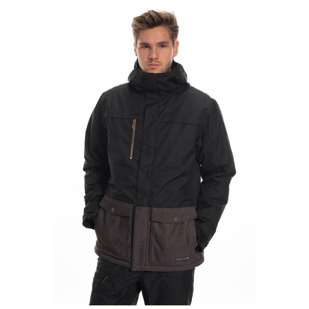 686 pánská zimní bunda Anthem Insulated Jacket Black Clrblk 19/20