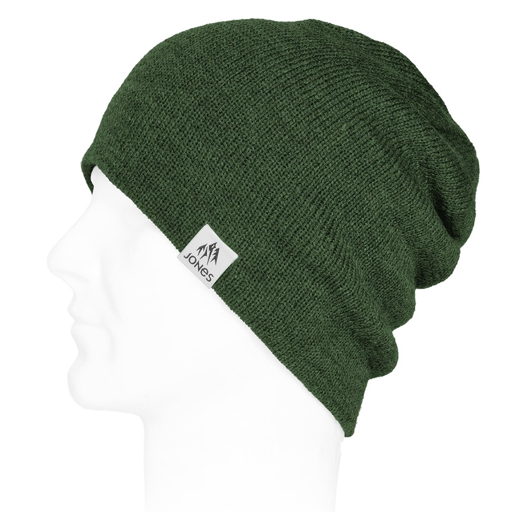 Jones kulich Basic Beanie Green Charcoal
