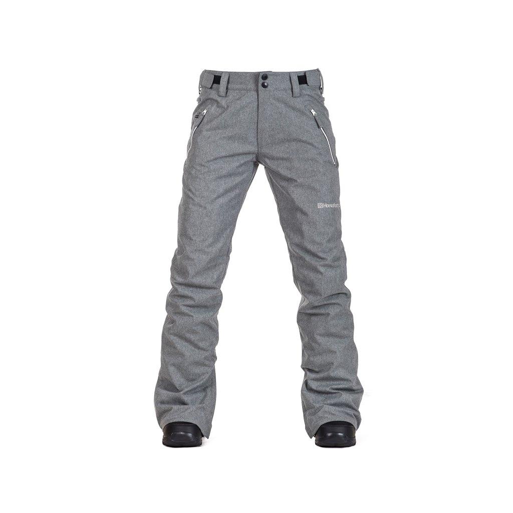 damske zimni kalhoty horsefeathers ryana heather gray 1