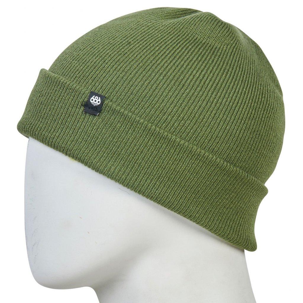 686 kulich standard roll up beanie green 19 20