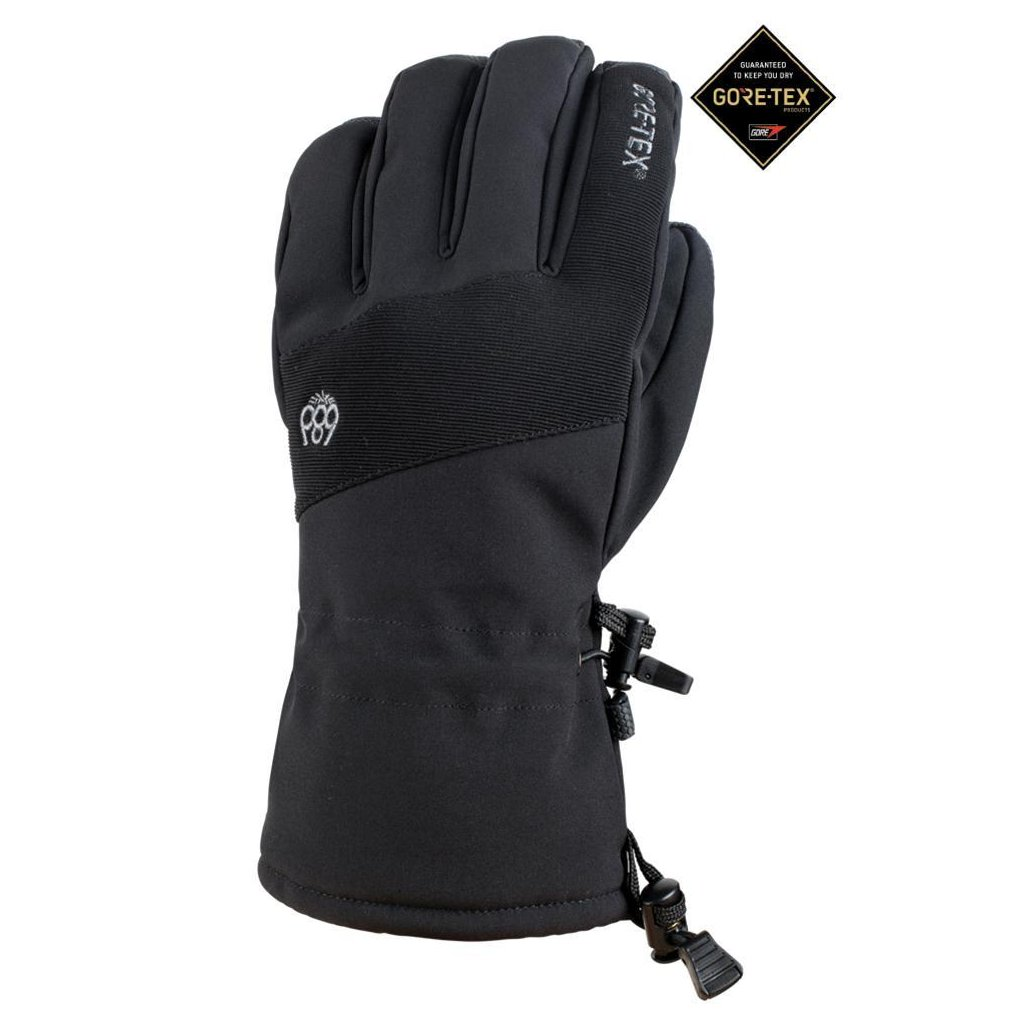 686 zimni rukavice linear gore tex glove black 19 20
