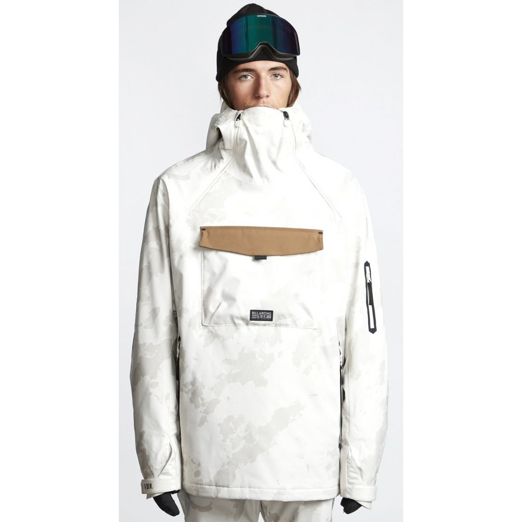 billabong panska zimni bunda quest snow jacket bone 19 20