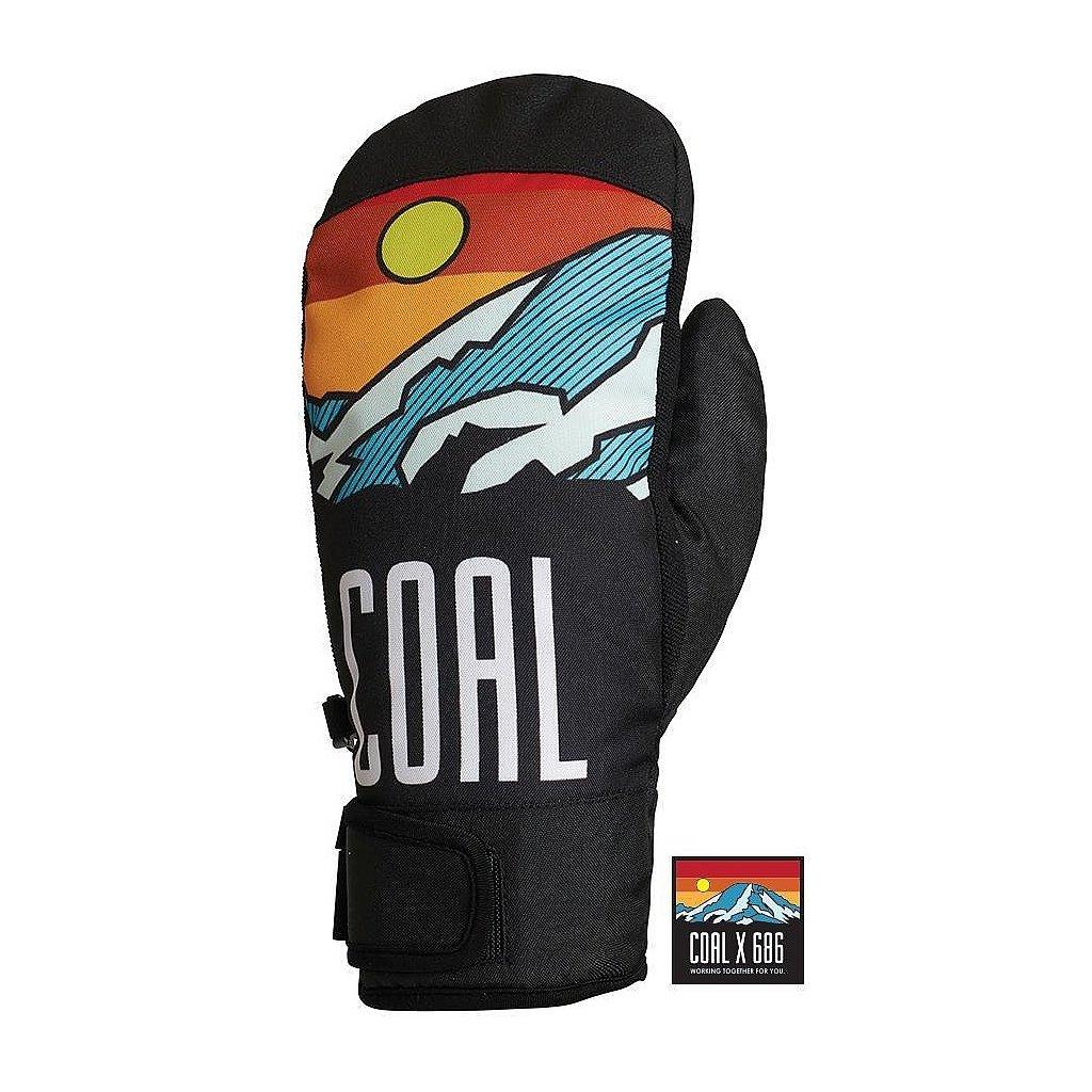 686 zimni rukavice palcaky mountain mitt coal 19 20