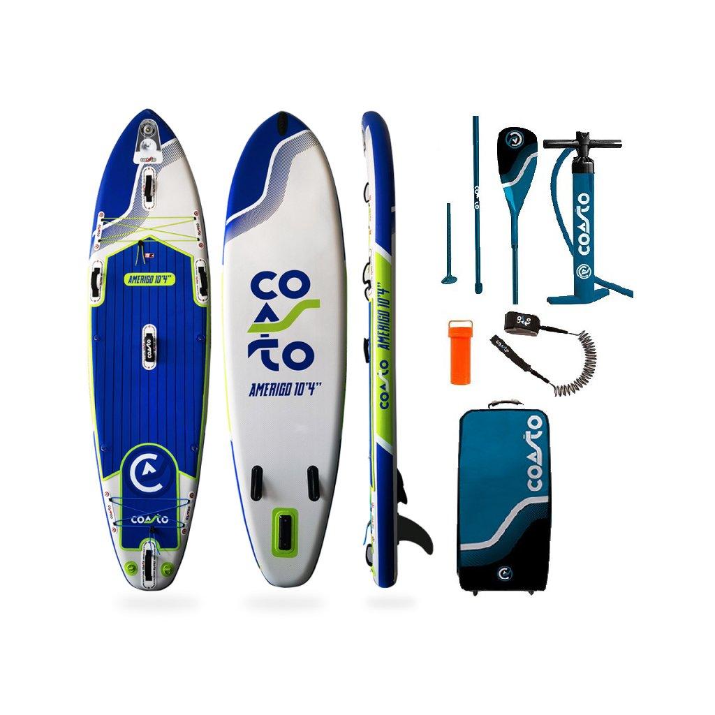 stand up paddle gonflable amerigo 10 4 coasto exilshop olomouc