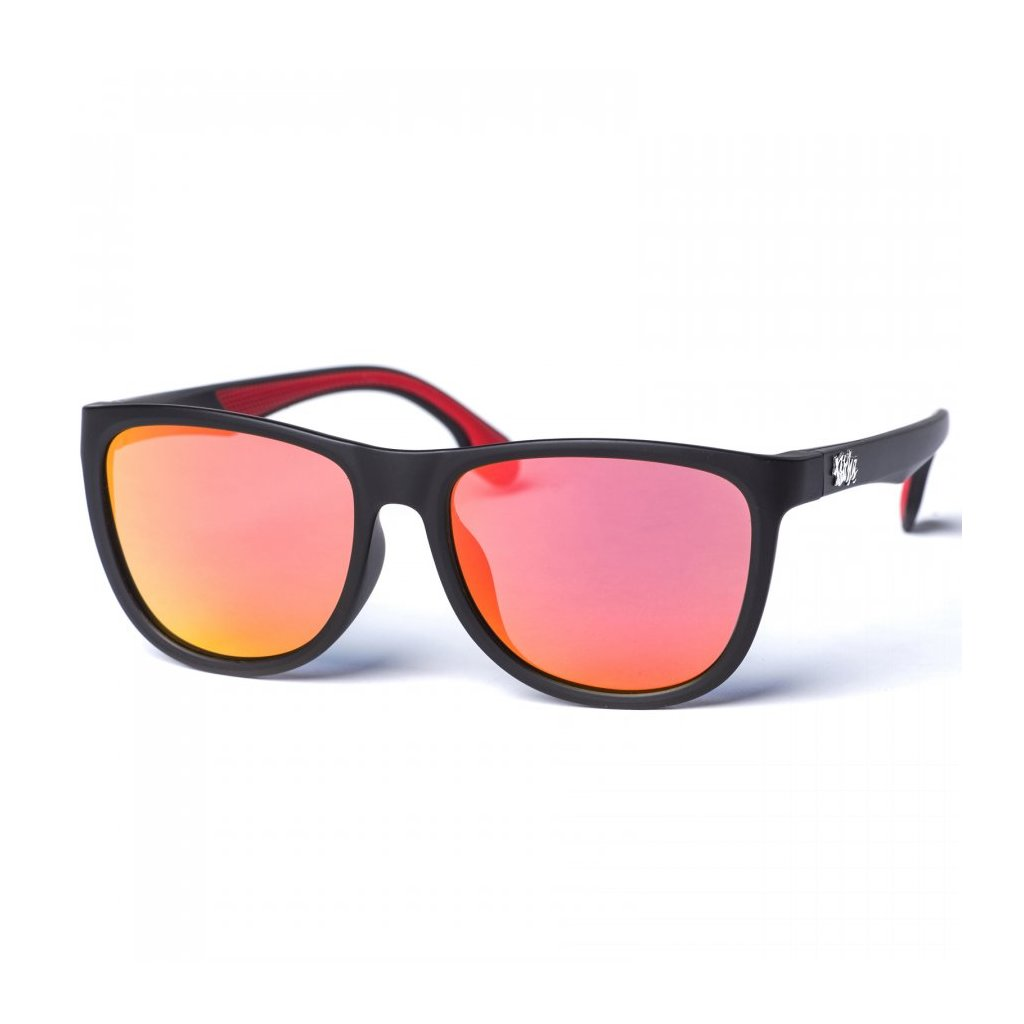 pitcha baldan luxury sunglasses black orange