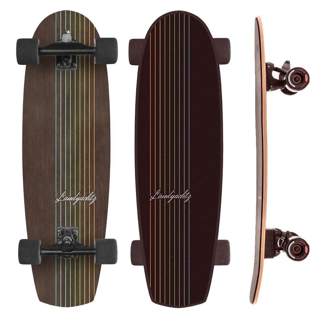 Landyachtz surfskate Butter Walnut Lines 31 2021