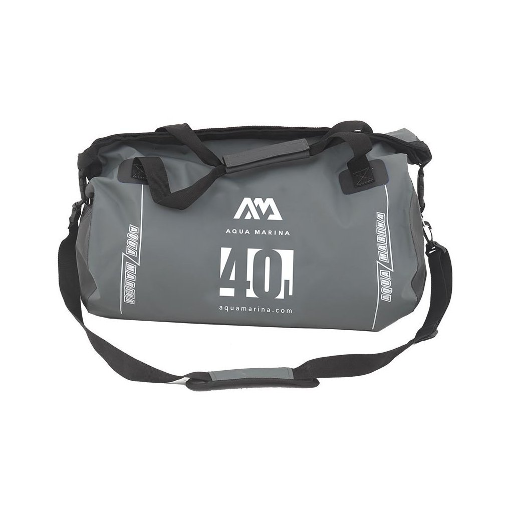 10058547 dry bag aqua marina 40l duffle bag grey