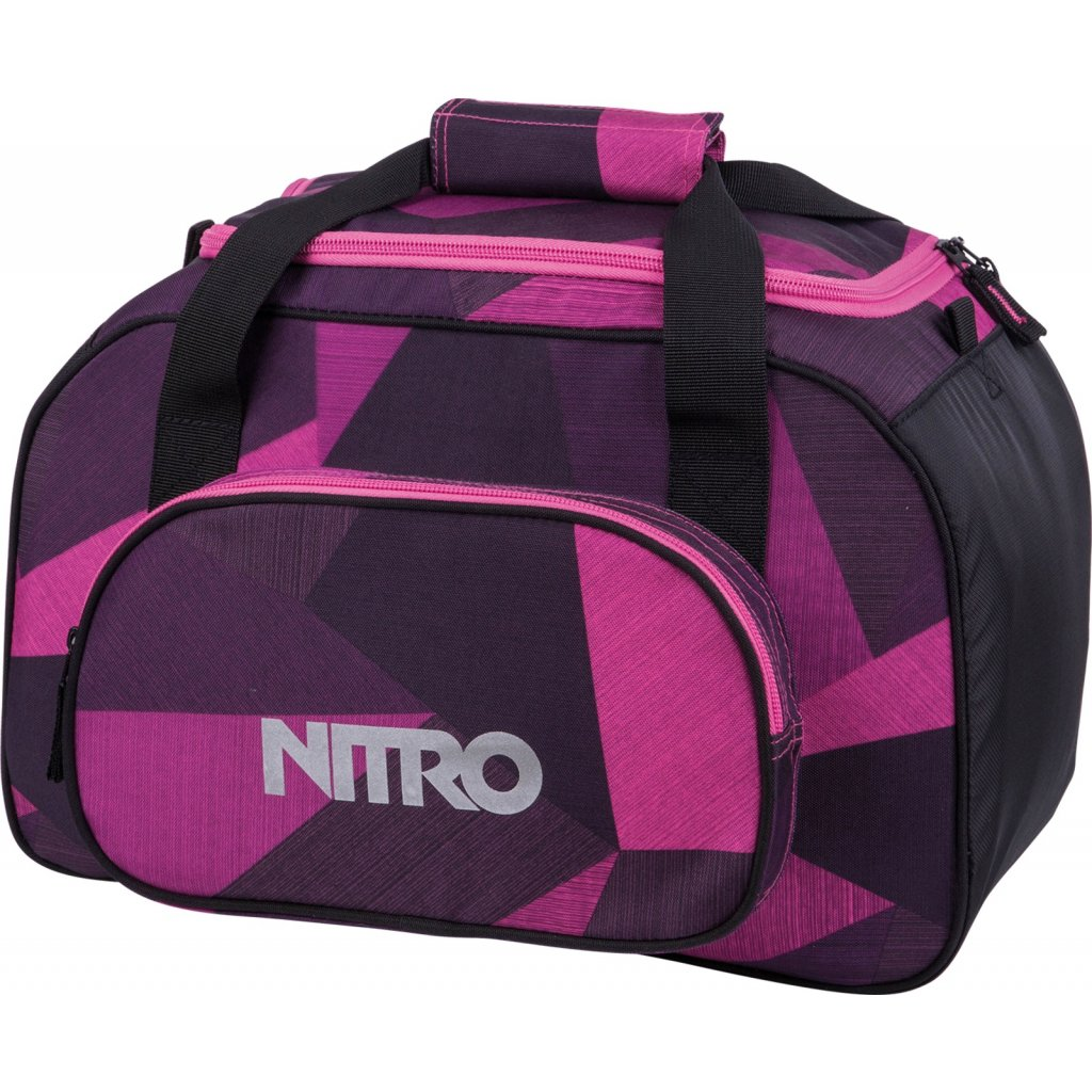 Nitro taška Team Duffle BAG XS fragments purple 35L