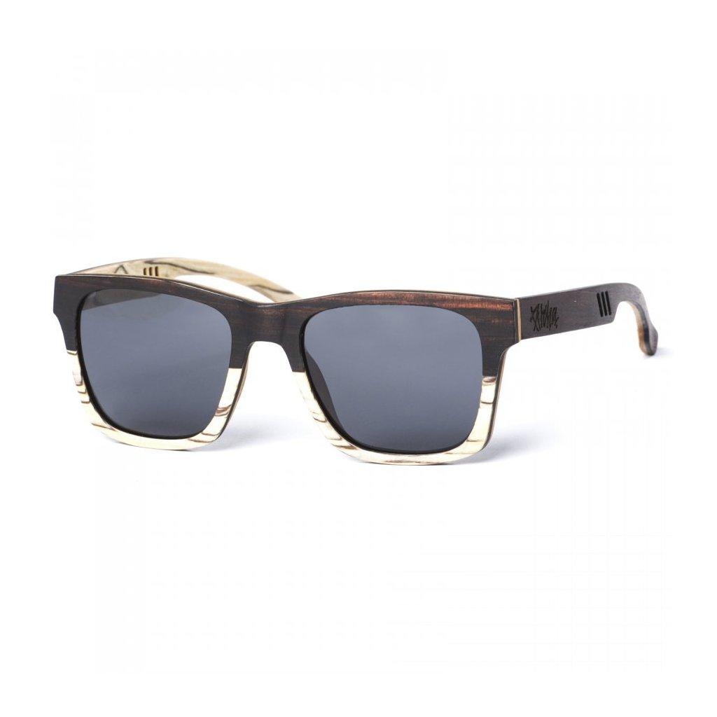pitcha wodzoo sunglasses white zbera ebony