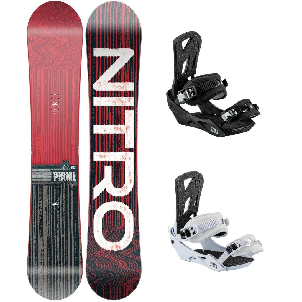 snowboard set nitro prime distort 2021