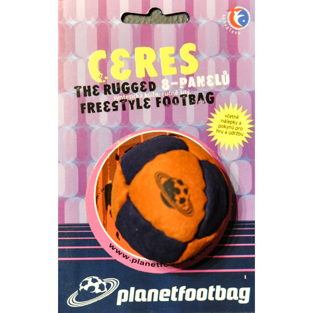 Footbag Ceres orange hakisak