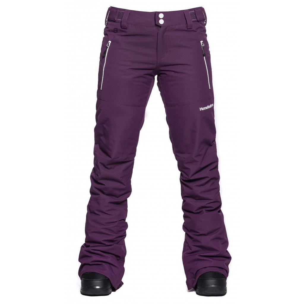 horsefeathers damske kalhoty na snowboard avril Grape 20 21