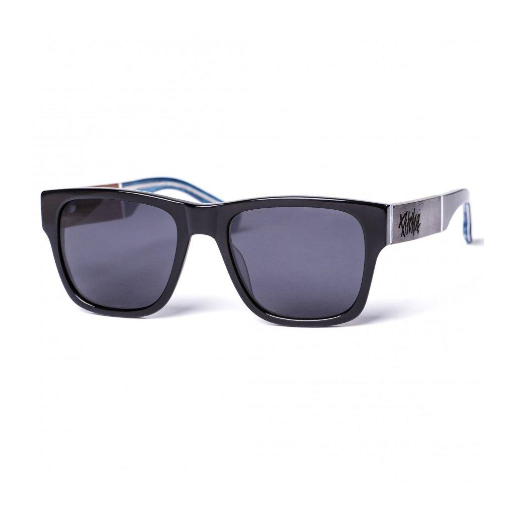 pitcha fanda sunglasses black ebony sea
