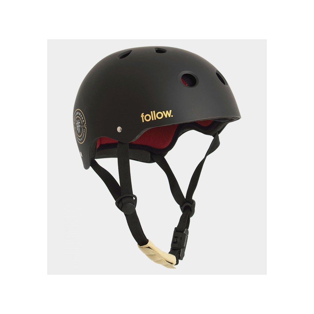 Pro Helmet BlackMaroon