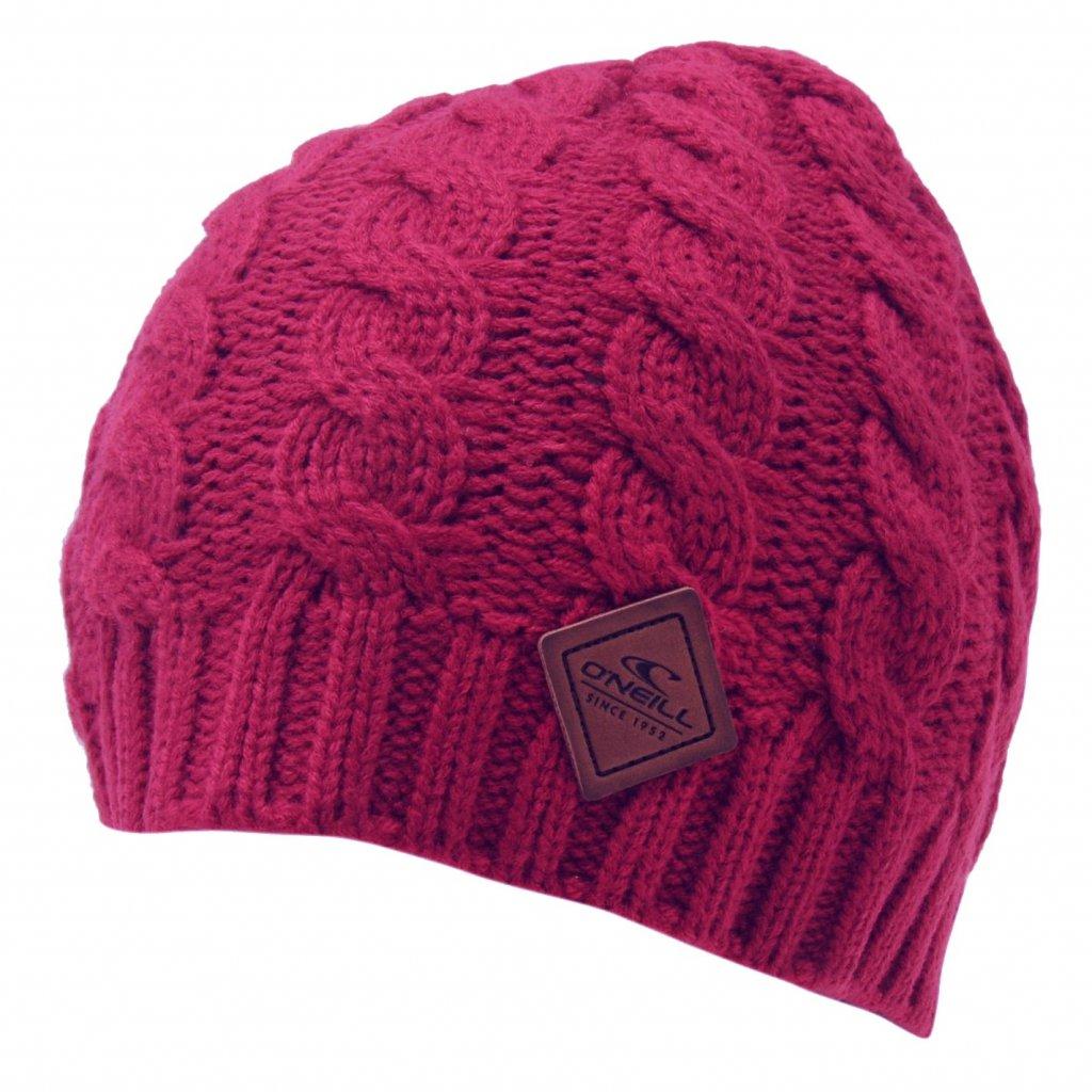 O'NEILL zimní čepice dámská AC CL Cable Pink