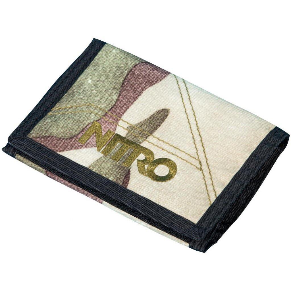 Nitro peněženka Wallet camo  + doručení do 24 hod.
