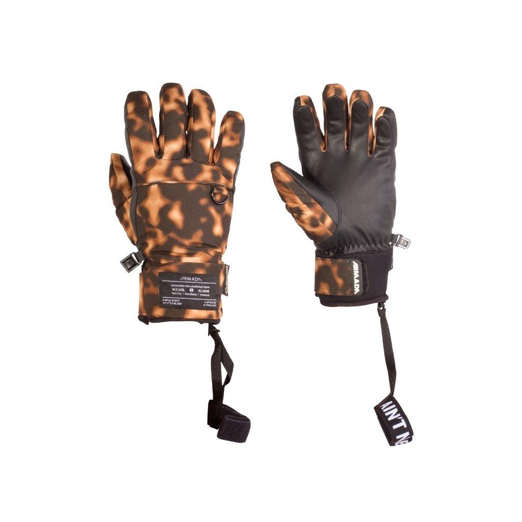 Armada zimní rukavice dámské W'S Agency Gore-Tex glove tortoise shell  + doručení do 24 hod.