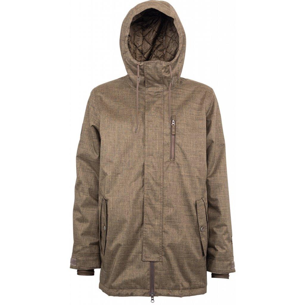 Nitro pánská zimní bunda Method brown  + doprava zdarma