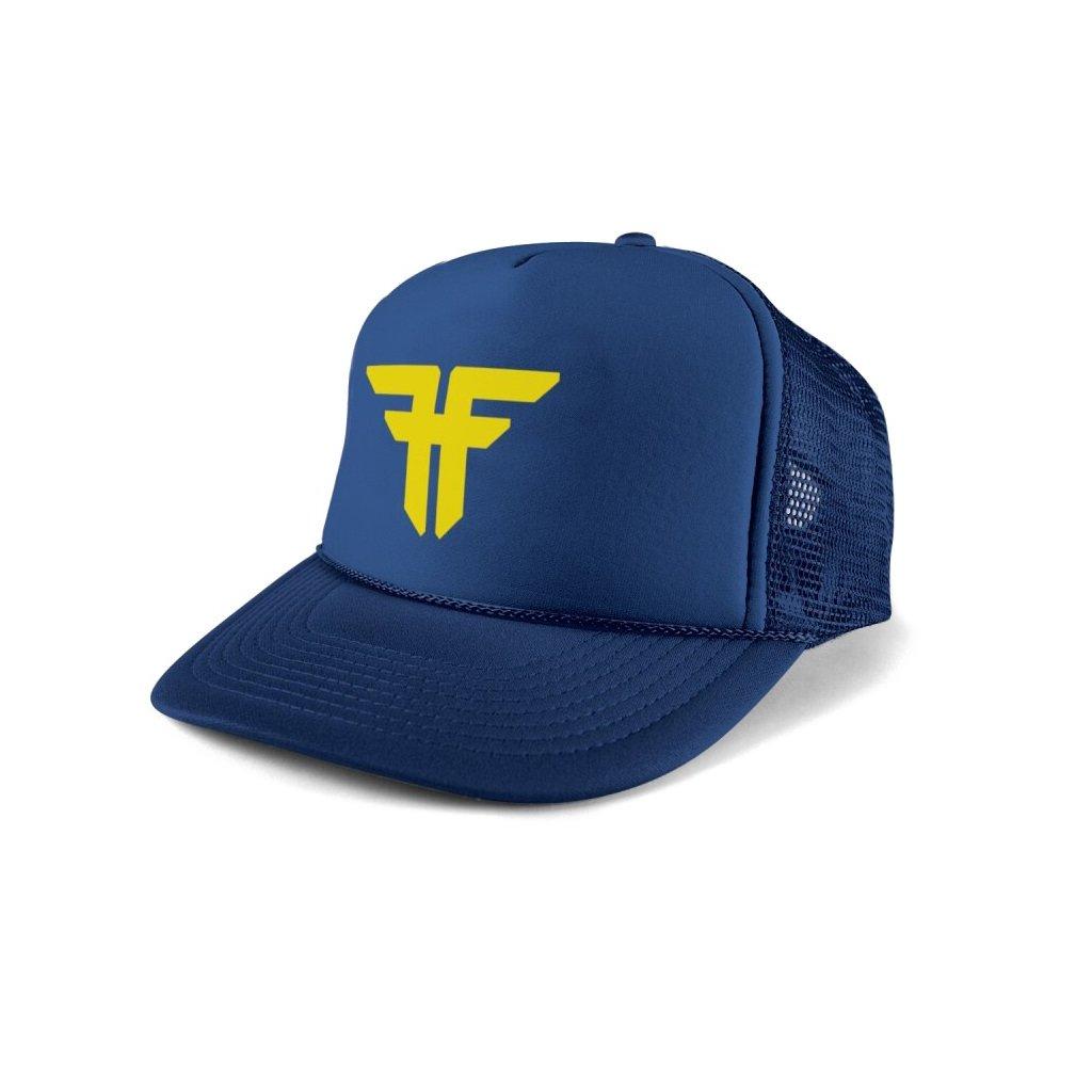 Fallen kšiltovka Trademark Trucker Navy Blue/Fluro Yellow
