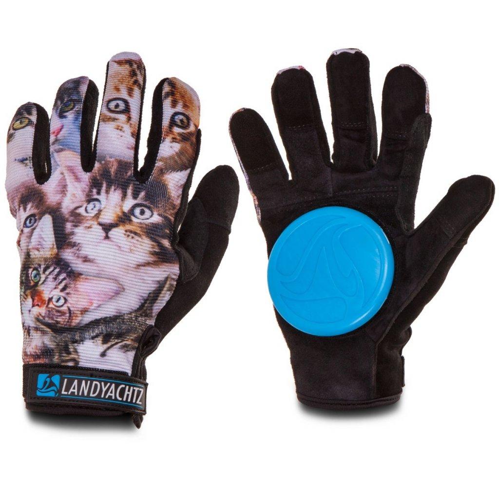 landyachtz rukavice na longboard cats gloves slide 20 21