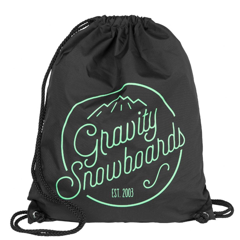 Gravity pytlík Connie Cinch Bag black