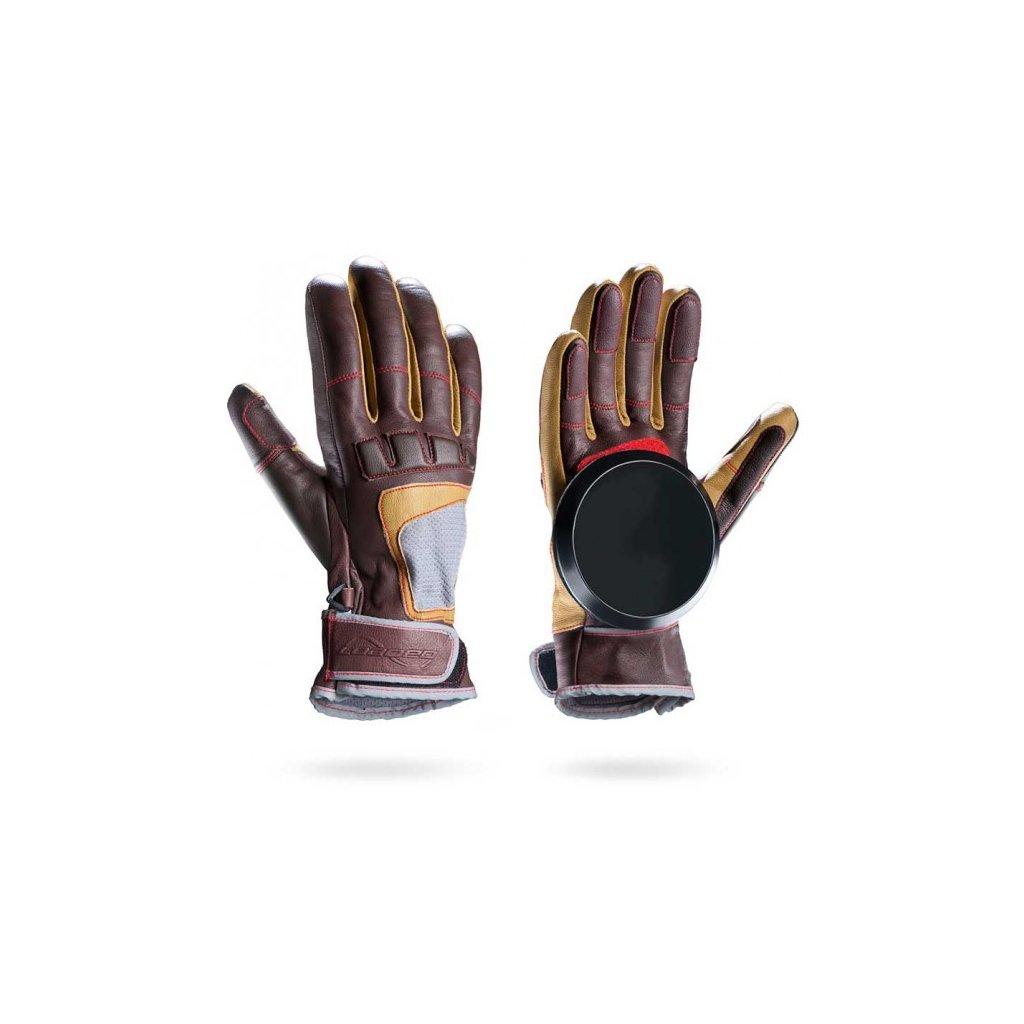 loaded advanced freeride slide gloves