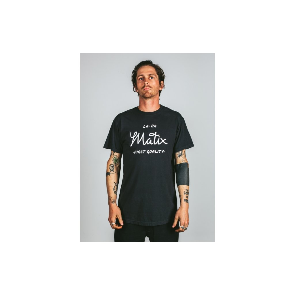 Matix tričko First Quality T-Shirt black