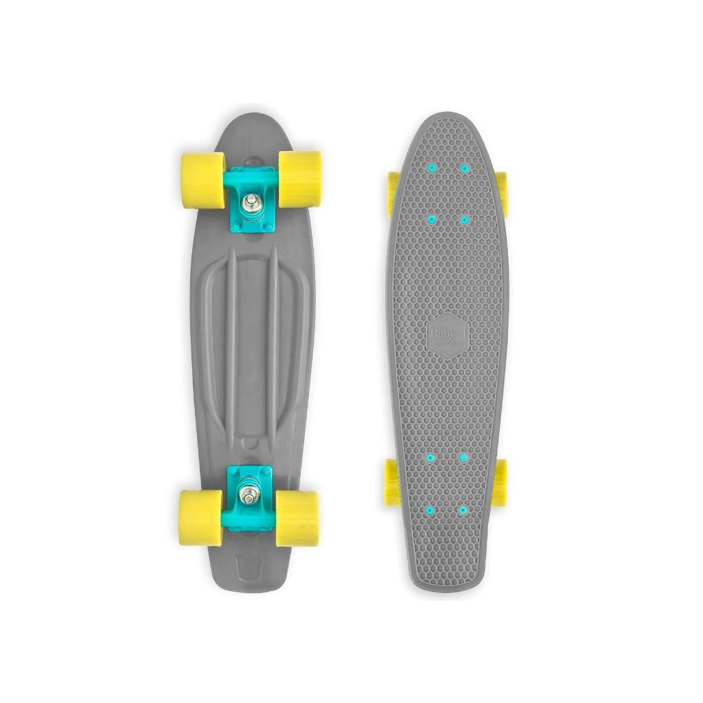 """Baby Miller Old Is Cool Stone Grey 22,5"""" longboard"""