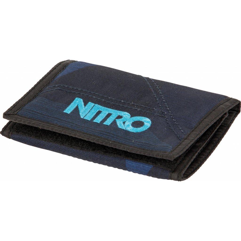 Nitro peněženka Wallet fragment blue 17/18