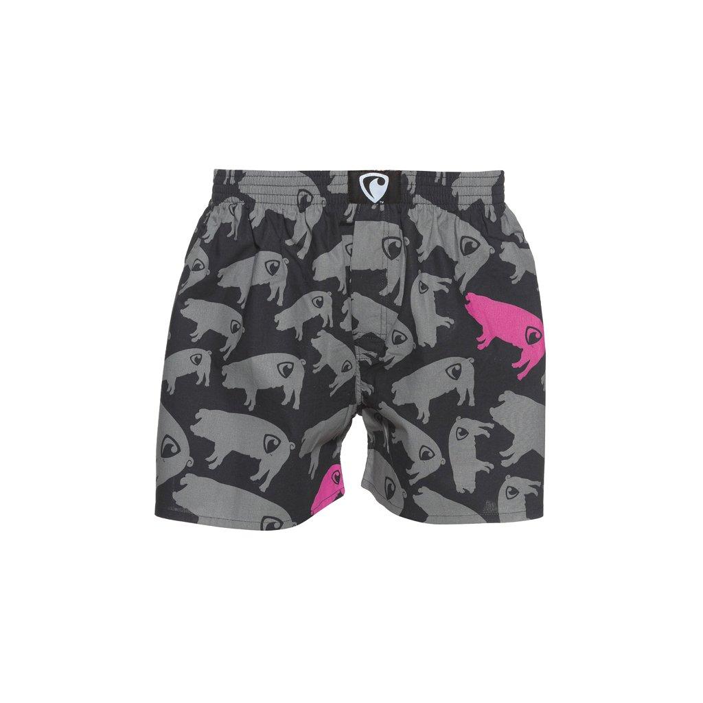 Pánské trenýrky / boxerky EXCLUSIVE ALI PIG FARM grey od kultovní značky Represent.