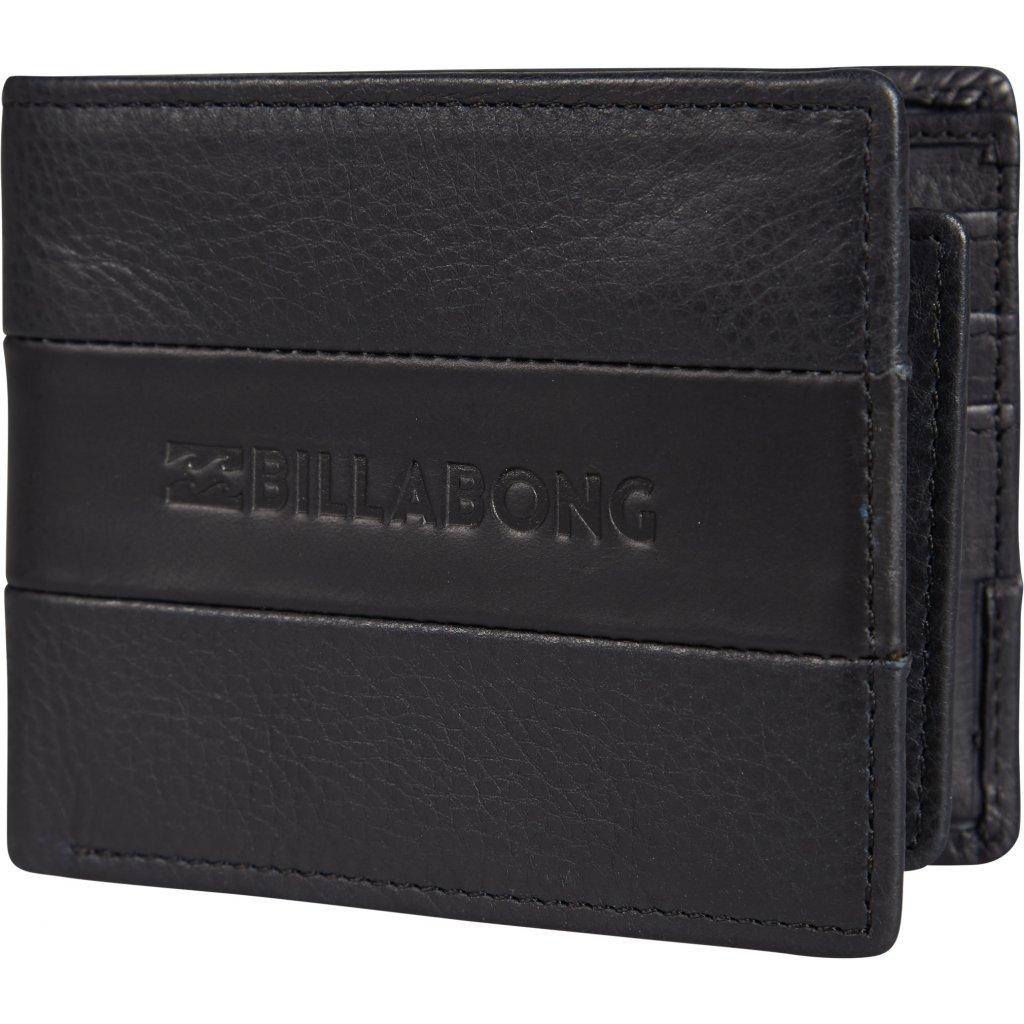 Billabong peněženka Tribong Leather black 18/19