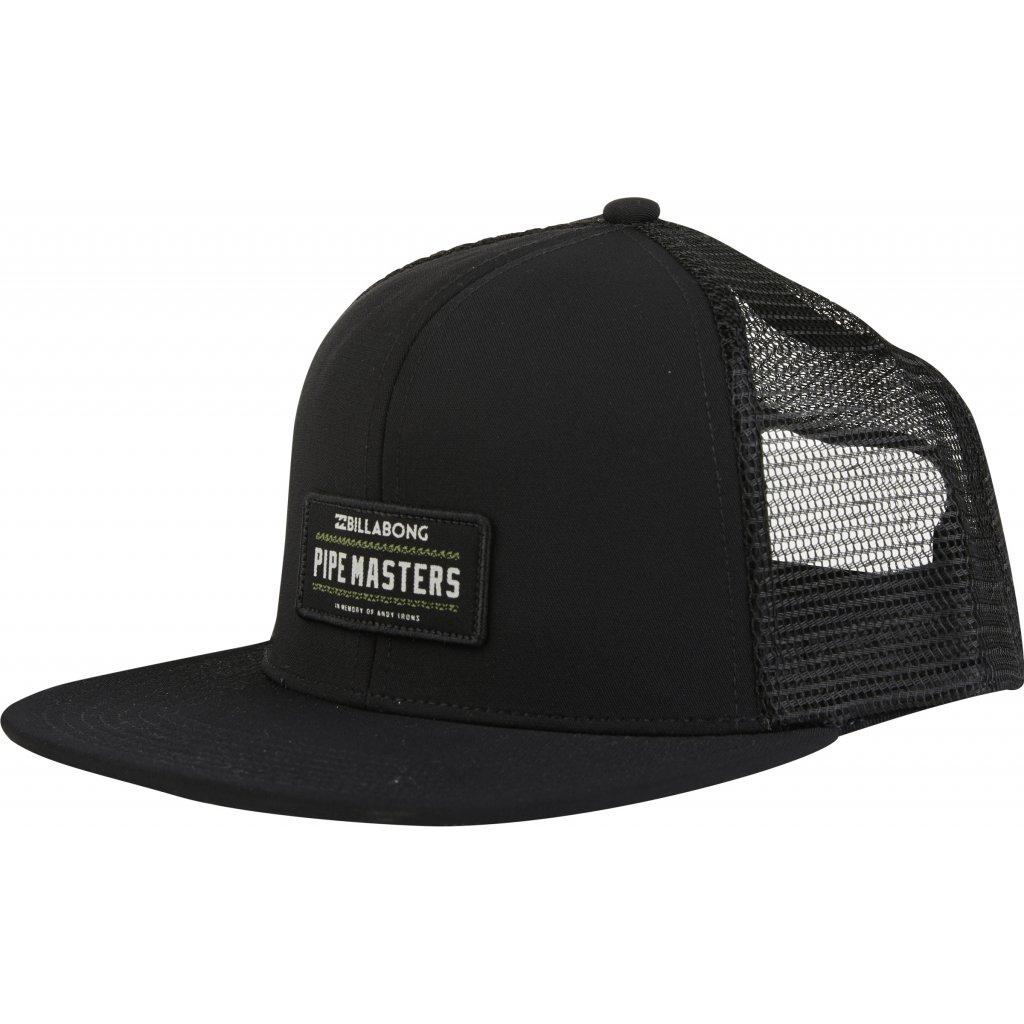 Billabong kšiltovka Pipe Masters trucker black 18/19