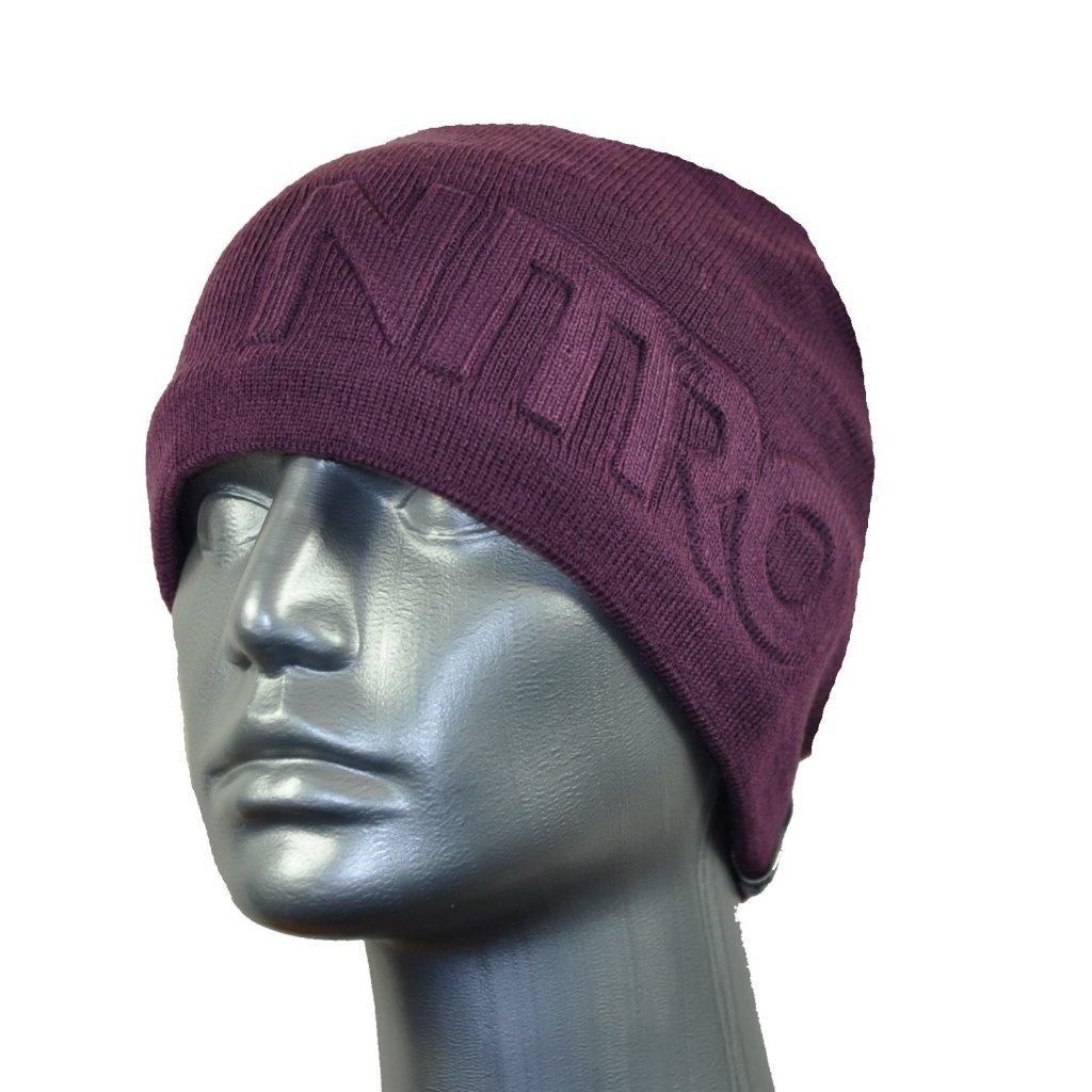 Nitro zimní čepice SUBLIMINAL HAT darkland